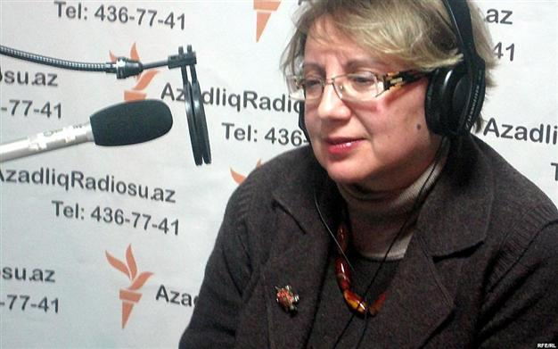 Leyla Yunus is head of one of Azerbaijan's leading rights groups, the Institute for Peace and Democracy in Baku.