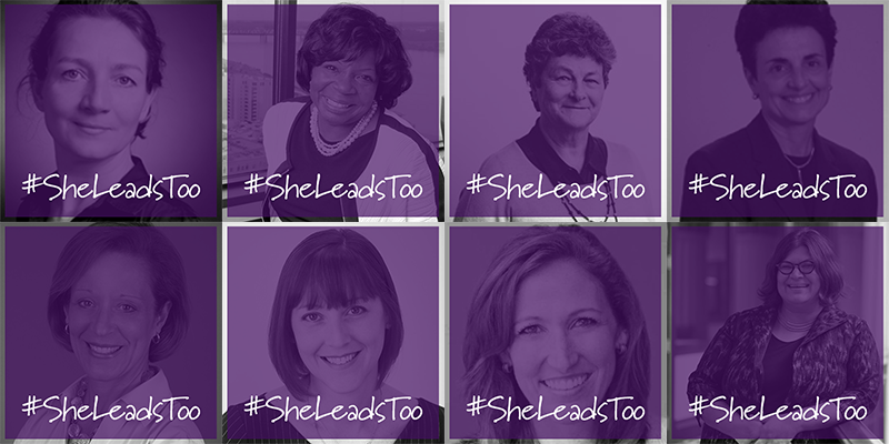 #SheLeadsToo